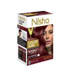 Безамиачная крем-краска для волос Nisha Бургунди №3.16 с маслом авокадо