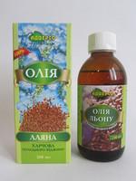 Льняное масло пищевое 200мл