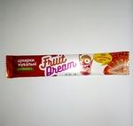 Конфеты жевательные с клубничным соком + витамин С «Fruit Dream»